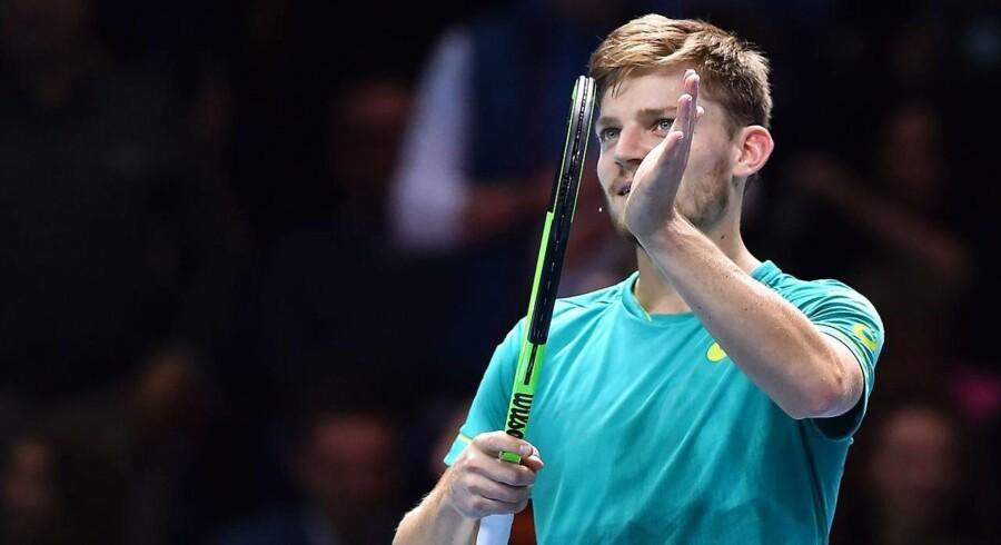 David Goffin skriver belgisk tennishistorie ved at spille sig blandt de sidste fire i sæsonfinalen.