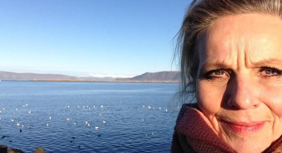 Benedikte Hansen: »Helt generelt er jeg mere voyeur end deltager på de sociale medier«. Foto: Selfie