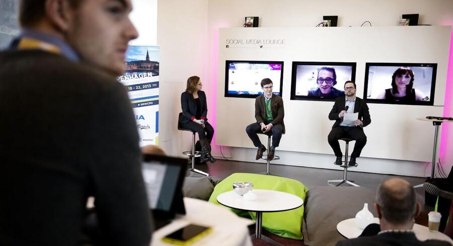 Social Media Week er en tilbagevende begivenhed i København. Her fra 2013.