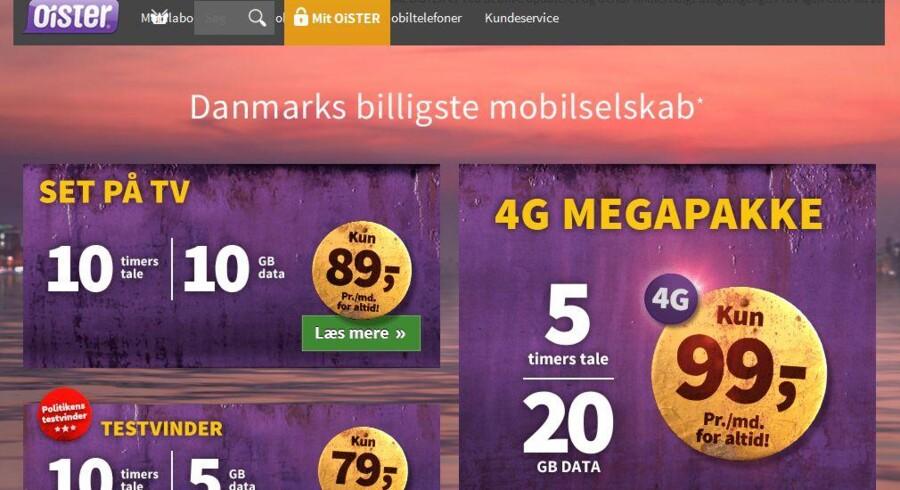 »3«s lavprisselskab, Oister, kører på med mobilpriser, der ifølge konkurrenterne er så aggressive, at man ikke kan tjene penge på dem. Alligevel udebliver kunderne.
