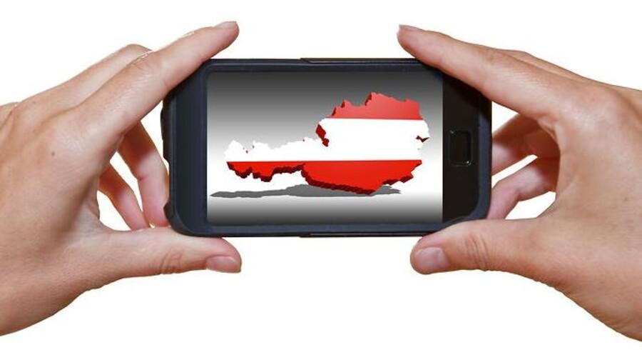 Den østrigske statskasse ville mangle to milliarder euro, hvis sidste års 4G-/LTE-auktion var blevet erklæret ugyldig. Arkivfoto: Iris/Scanpix