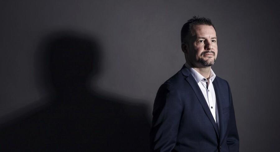 Allerede som 34-årig blev Robert Fenton udnævnt til professor ved Aarhus Universitet. Scanpix/Søren Kjeldgaard