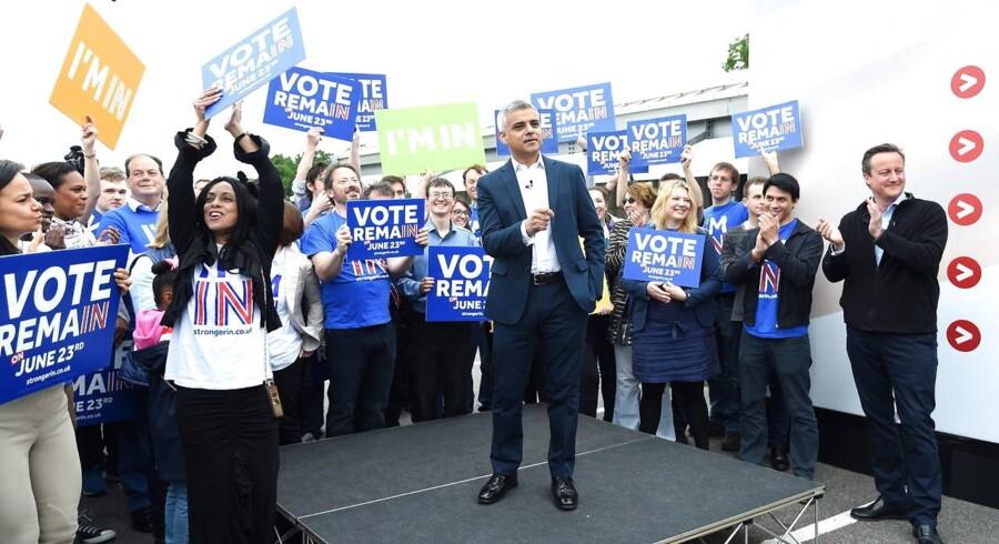 Advarslen kommer forud for, at den britiske befolkning 23. juni skal stemme om, hvorvidt den ønsker at forblive i EU.