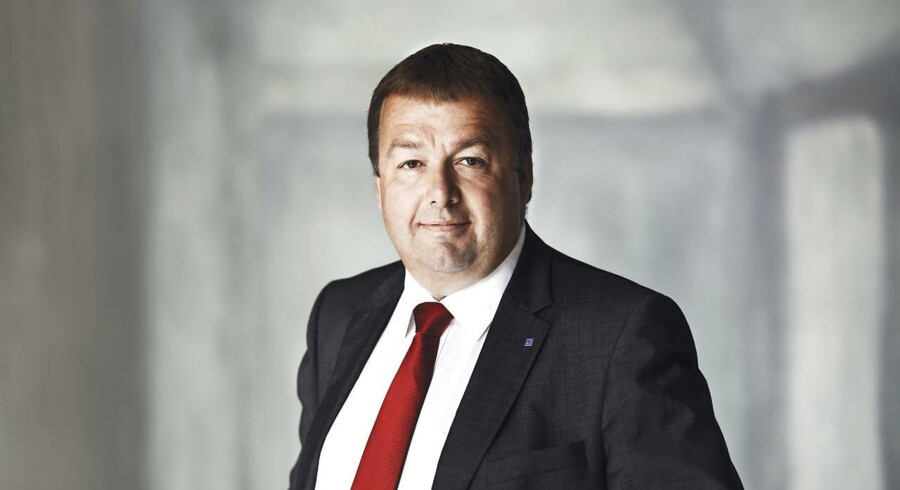 Claus Jensen, formand Dansk Metal