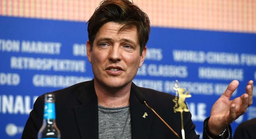 Thomas Vinterberg på Berlinale-pressemødet.