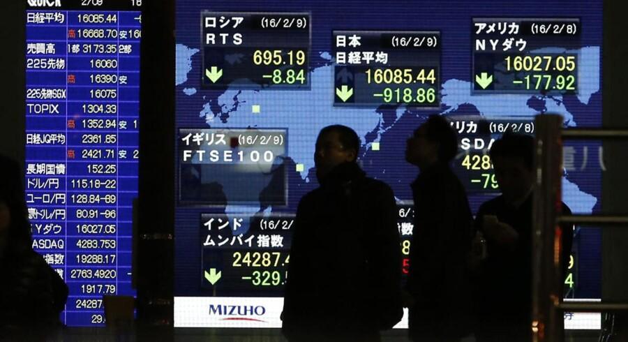 Arkivfoto. Renteforhøjelser er tilbage på radaren hos den japanske centralbank, Bank of Japan. Det skriver Reuters, der citerer flere kilder.