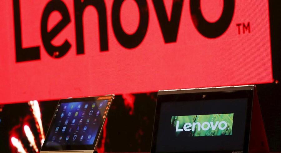 Lenovo er verdens største PC-producent og vil med købet af Motorola have langt bedre fat på mobilmarkedet. Arkivfoto: Bobby Yip, Reuters/Scanpix