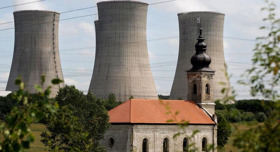 Den amerikanske regering vil sætte gang i bygningen af nye atomkraftværker ved hjælp af statslån. Her er dog et atomkraftværk i Slovakiet.