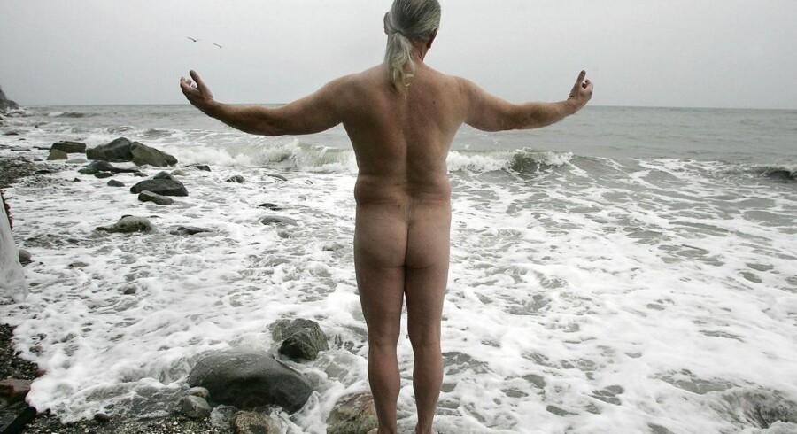 Det er tilladt at bade nøgen på de fleste danske strande.