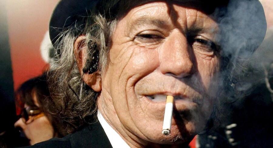 Keith Richards er klart den skønneste i Rolling Stones! Tag på udstilling i New York eller Chicago, og døm selv ...