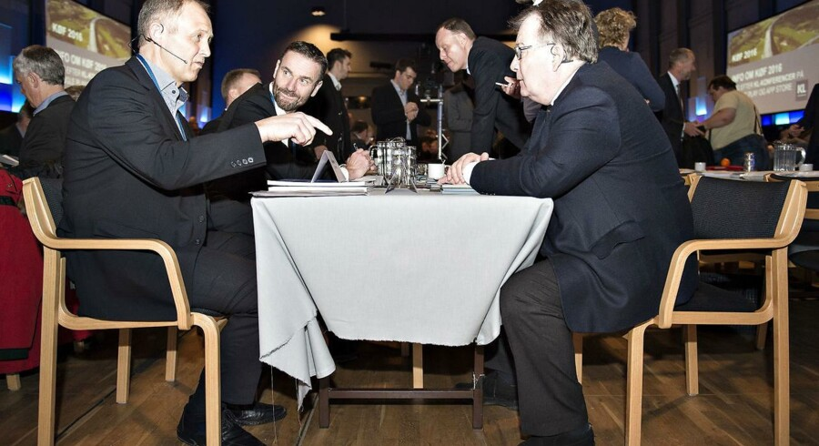 KLs formand Martin Damm og finansminister Claus Hjort Frederiksen stikker snart hovederne sammen for at forhandle om kommunernes økonomi.