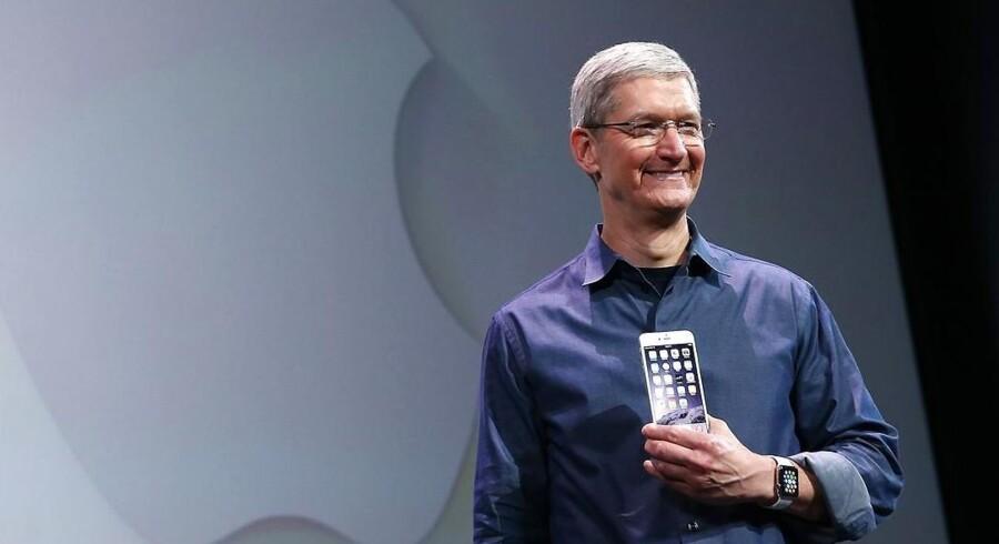 Apples adm. direktør Tim Cook er klar til at investerer milliarder i Danmark.