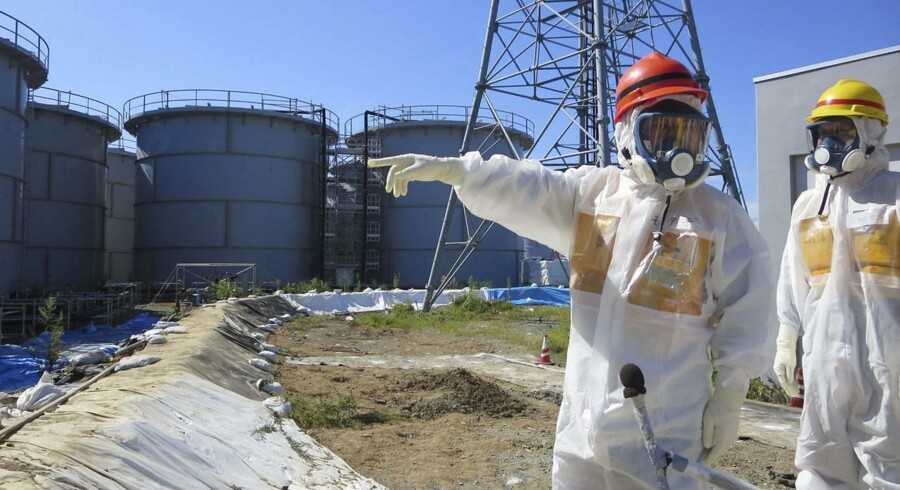Vandtankene på Fukushima-værket lækker forurenet spildevand.