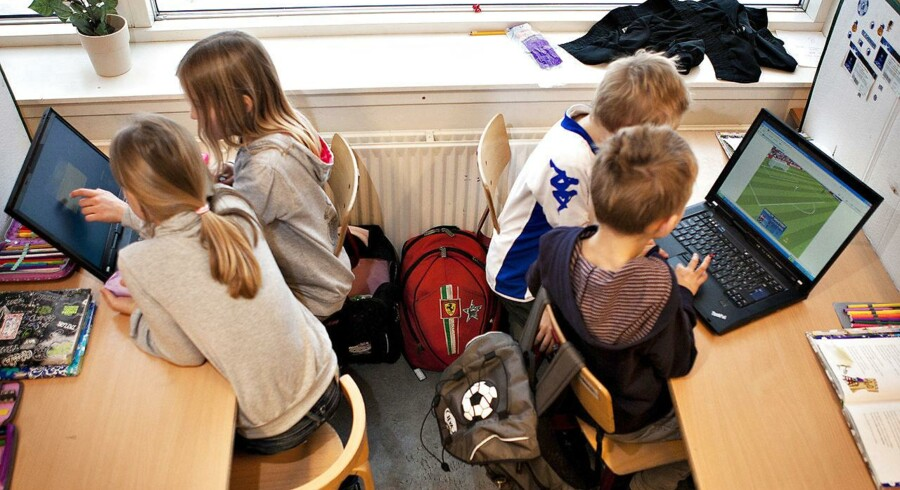 Arkivfoto. 44 procent af pædagoger mener ikke, at børn i folkeskolen får de 45 minutters daglig bevægelse, som reformen lovede.