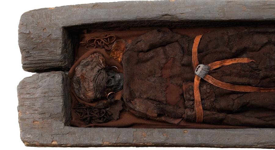Nye analyser viser, at Skrydstrupkvinden rejste langt for at komme til Danmark (arkivfoto). Free/Nationalmuseet