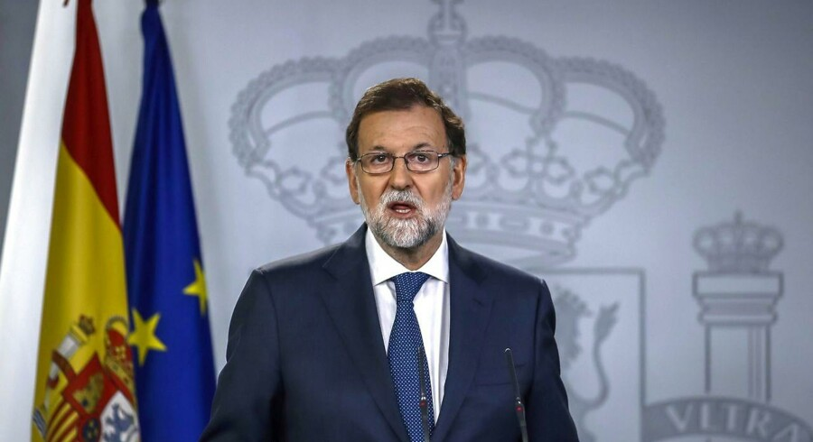 Spaniens premierminister vil have erklæret en folkeafstemning i Catalonien om uafhængighed forfatningsstridig. Scanpix/Pierre-philippe Marcou