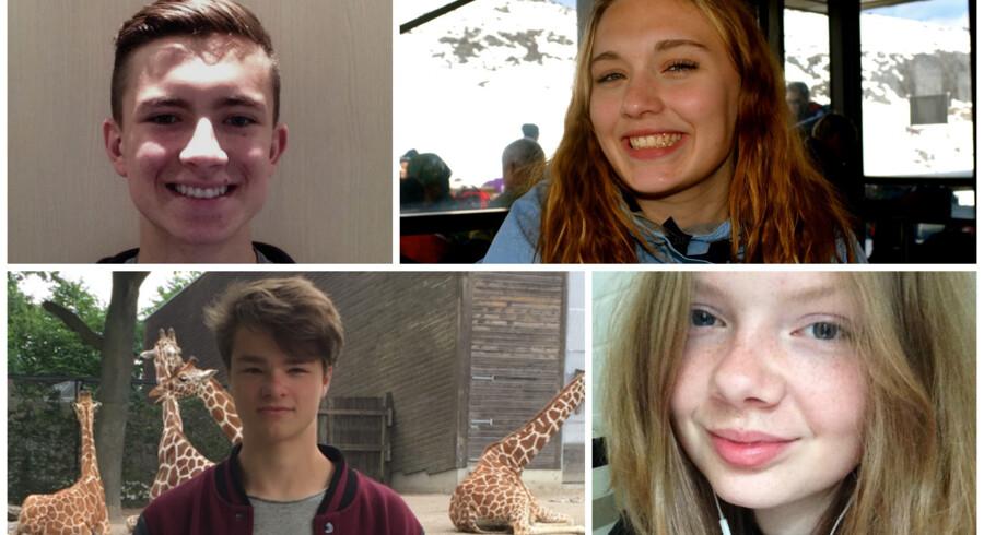 Laurids, Nethe, Emil og Frederikke har alle været et år på high school i udlandet. Nogen har været mere imponerede over det faglige niveau ude, mens andre mener, niveauet i Danmark er højest.
