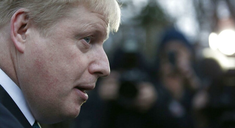 Londons borgmester, Boris Johnson