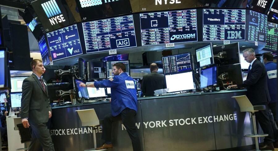 Arkivfoto. Der er udsigt til små udsving, når det danske obligationsmarked åbner mandag.