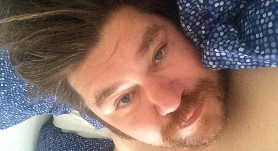 Rasmus Bjergs selfie