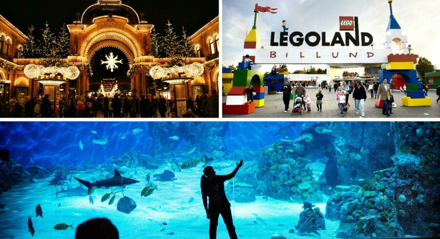 I løbet af året havde de 50 mest besøgte attraktioner samlet set 25,0 millioner gæster, hvilket er rundt regnet 1,5 millioner flere end året før. Se listen over top 10 lige her.