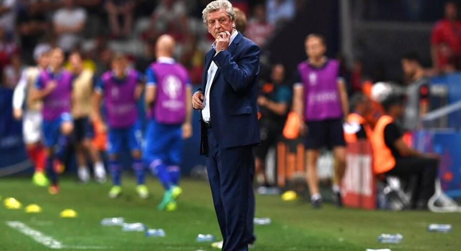 Mandag aften meddeler Roy Hodgson, at han stopper som landstræner efter 1-2-nederlaget til Island i EM-ottendedelsfinalen.
