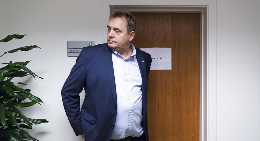 Troels Brandt (R) på valgnatten på Slagelse Rådhus under Regions- og Kommunalvalget 2017, onsdag den 22. november 2017.