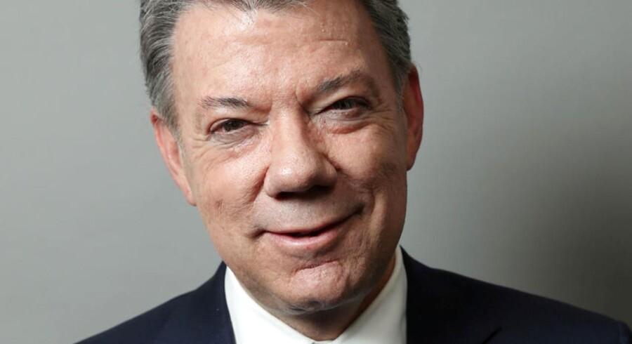 Colombias præsident Juan Manuel Santos har modtaget Nobels Fredspris.