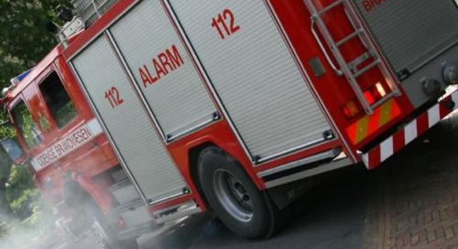 En brand i Randers har søndag morgen kostet en 58-årig mand livet. Arkivfoto. Colourbox