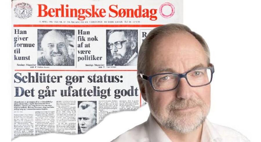 I 1986 kunne den konservative statsminister, Poul Schlüter, fortælle danskerne, at det gik ufatteligt godt. I dag er opbakningen til de Konservative historisk ringe, men er det vendepunktet, eller er det gamle parti på vej ud over afgrunden, spørger John Wagner, adm. direktør og konservativ generalsekretær 1988-92.