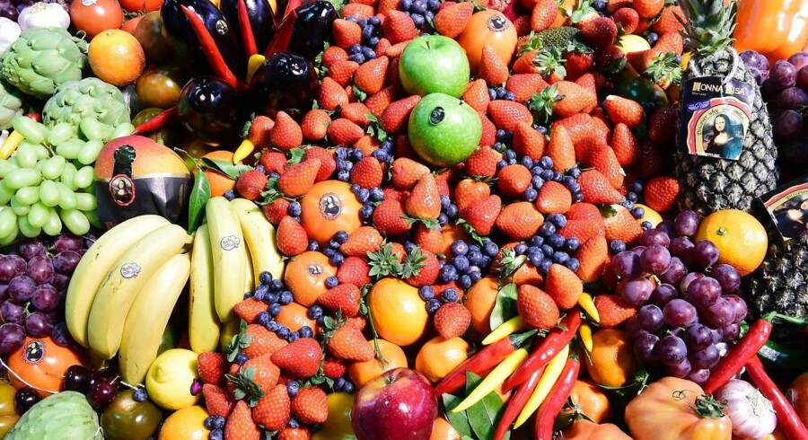 "(FILES) This file photo taken on February 8, 2017 shows fruit and vegetables during the opening day of the ""Fruit Logistica"" trade fair in Berlin on February 8, 2017."