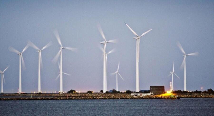 Arkivfoto: 56 procent af elforbruget i Danmarks sidste år stammede fra vedvarende energikilder.