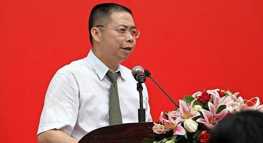 Yao Zhenhua, ejer af den kinesiske forsikringskoncern Baoneng Group. PR-foto