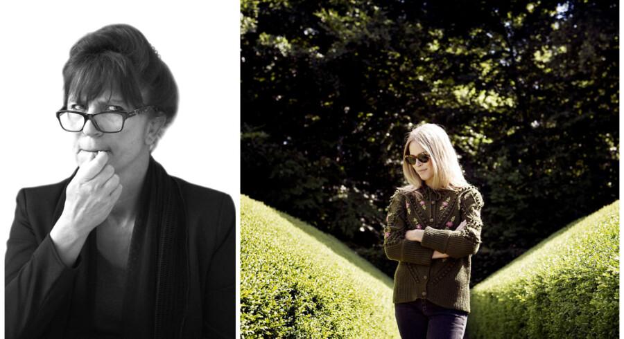 Susanne Staun skriver i sin sprogklumme om den debat, Berlingskes debattør Eva Agnete Selsing har sat i gang om sprogbrug, når det gælder sex. Foto: Ida Marie Odgaard og Linda Kastrup.