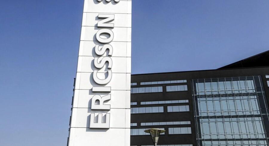 Svenske Ericsson skal ud i en barsk nedskæringsrunde, hvor store dele af produktionen i Sverige forsvinder. Arkivfoto: Stig-Åke Jonsson, Reuters/Scanpix