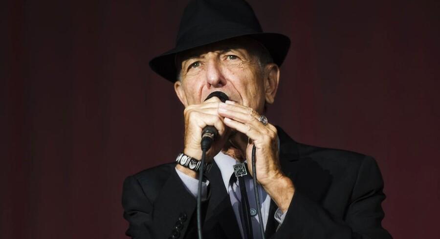 Leonard Cohen-koncert i Kongens Have i Odense