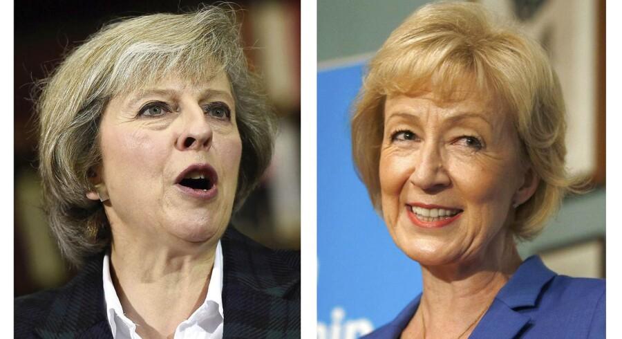 Theresa May eller Andrea Leadsom bliver Storbritaniens næste premierminister.