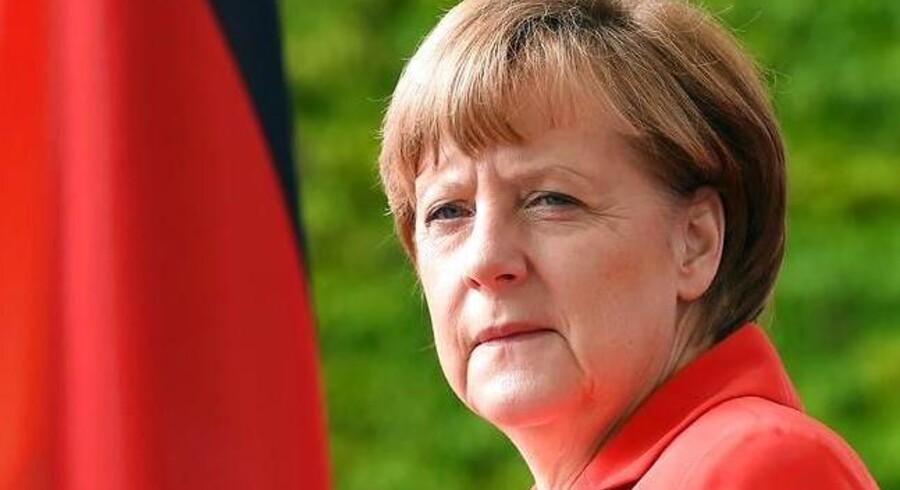 Angela Merkel: Rusland er ikke på vej tilbage i G7 - foreløbigt.