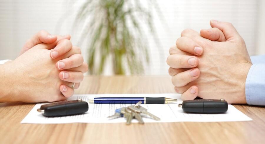 Hvordan behandles gamle familielån i tilfælde af skilsmisse?