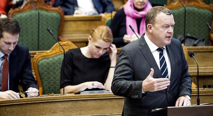 Statsminister Lars Løkke Rasmussen (Foto: Bax Lindhardt/Scanpix 2017)