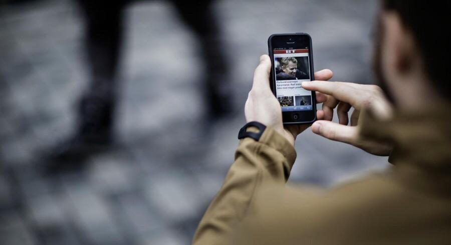 »Smartphones er rygraden i forbrugernes daglige medie-interaktioner«, siger Ole Nørgaard, Digital Director hos Klausen + Partners.