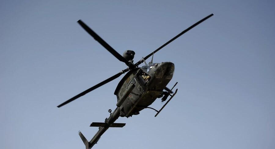 Op til 45 mennesker kan være døde efter en eksplosion i en moske i Afghanistan. Arkivfoto: AFP PHOTO/ Jose CABEZAS. Jose CABEZAS / AFP