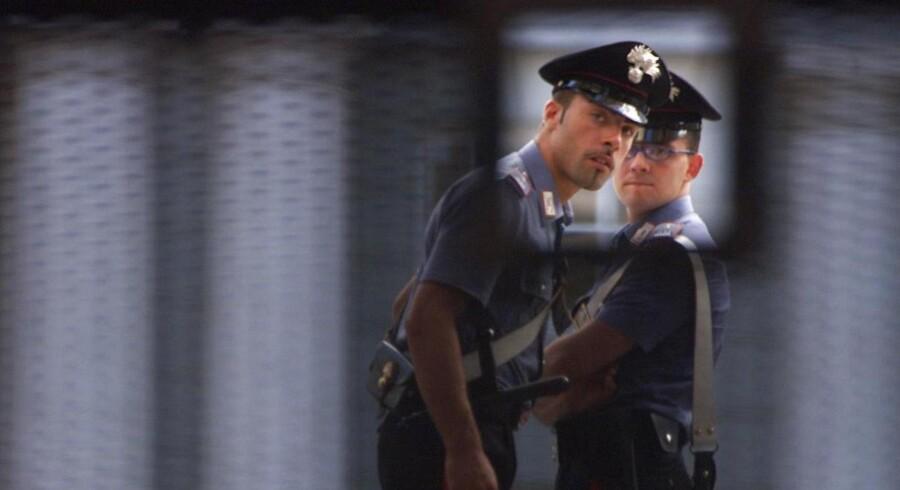 Politiet blev opmærksom på røverne, da de forrige fredag slog til mod en bank midt på Ramblaen i Barcelona