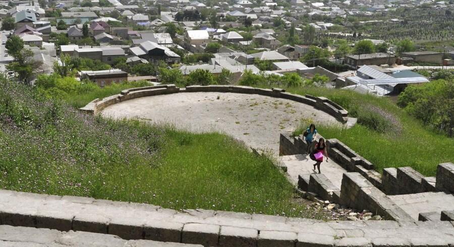 ARKIVFOTO. Skyderiet skete ved fæstningen i Derbent, som er på Unescos internationale kulturarvsliste