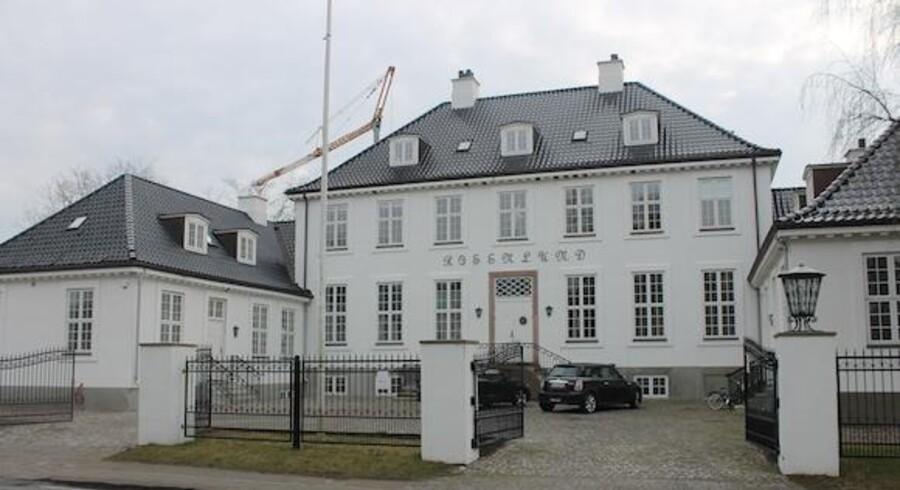 120.000.000 kr. er den højeste pris, det offentlige danske boligmarked nogensinde har set på en enkelt villa.