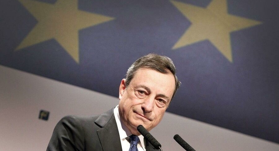 Den europæiske økonomi har fortsat brug for pengepolitisk støtte, siger chefen for Den Europæiske Centralbank, ECB, Mario Draghi, mandag eftermiddag i sin tale i EU-Parlamentet i Strasbourg.