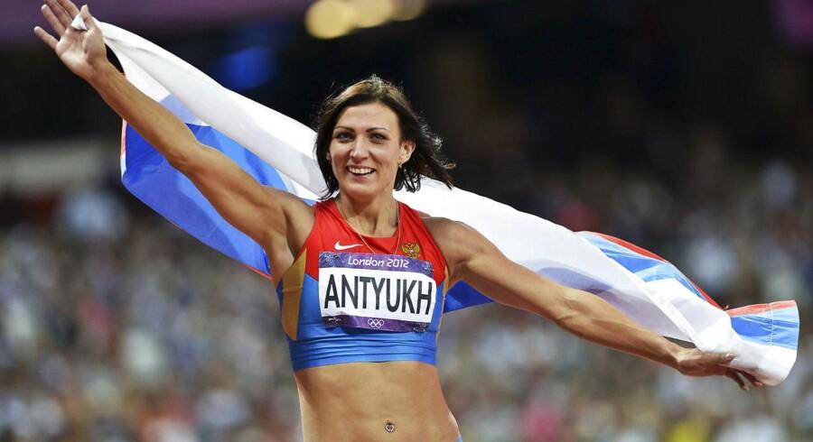 Natalya Antyukh, 400 meter hæk løber fra Rusland.
