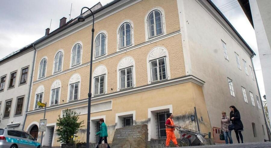 Adolf Hitlers første hjem.