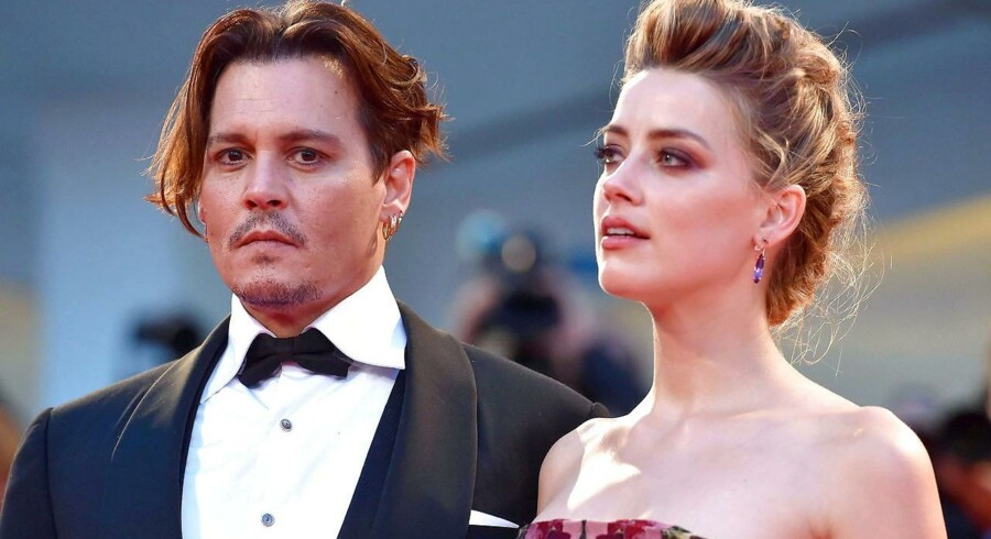 Amber Heard og Johnny Depp.