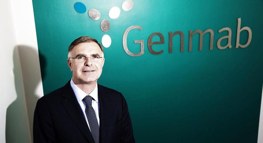 - Det er fantastiske nyheder for Genmabs aktionærer. Det er fantastiske nyheder for Ofatumumab, og det er endnu bedre nyheder for patienterne, siger Jan van de Winkel, administrerende direktør i Genmab til Børsen.